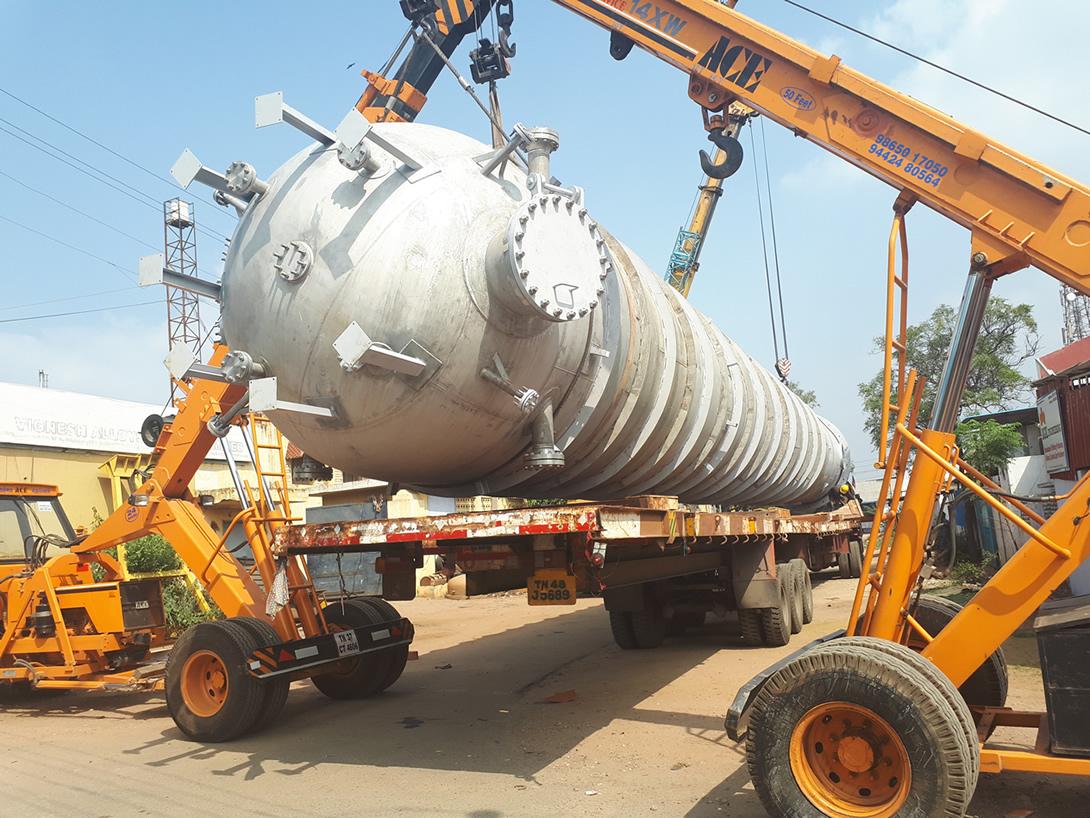 O2 Reactor and Blow Tank Export